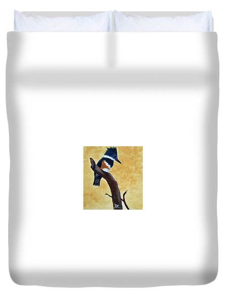 Kingfisher No. 1 Duvet Cover
