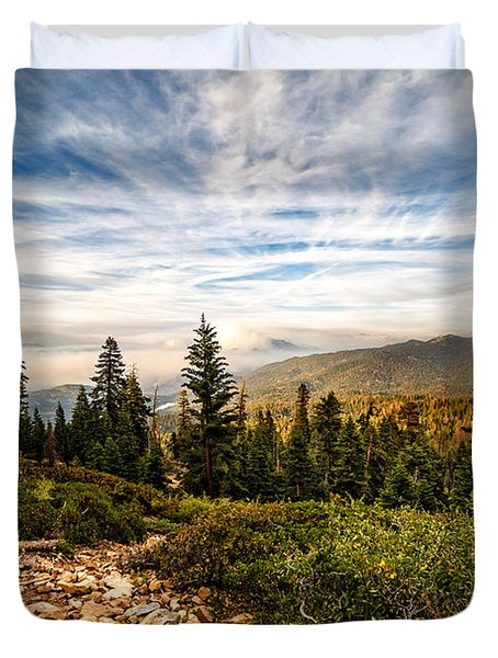 King's Canyon Crown Duvet Cover