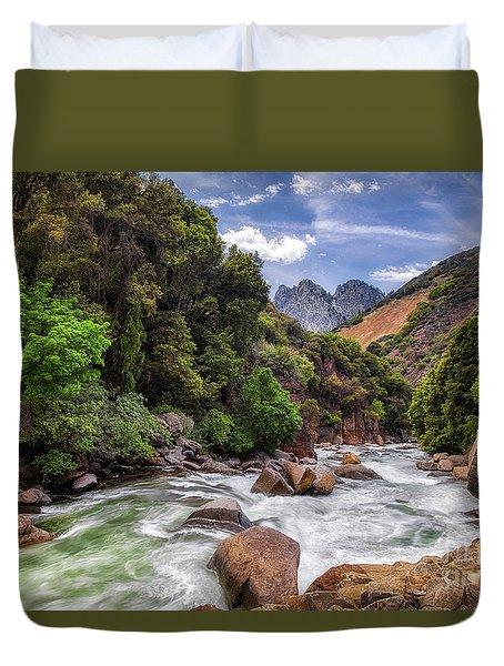 Kings River Duvet Cover