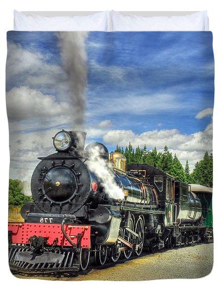Kingston Flyer Duvet Cover