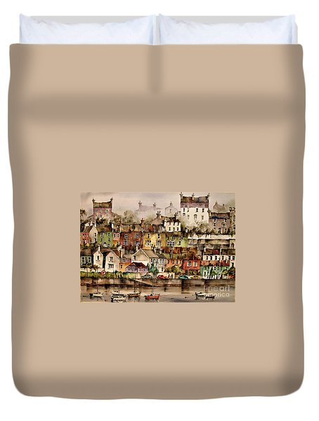 F 906  Kinsale Harbour. Cork Duvet Cover