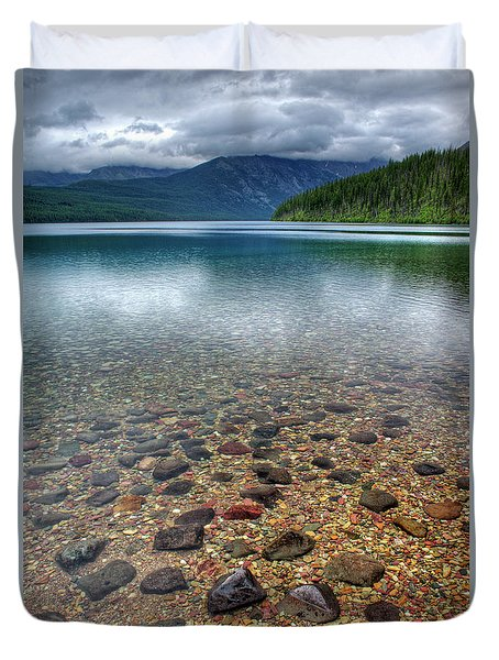 Kintla Lake Duvet Cover
