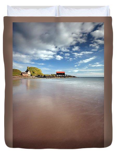 Kintyre Beach Duvet Cover