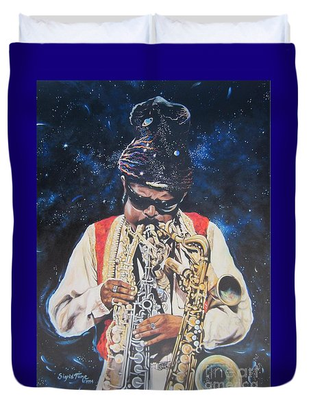 American History. .  Rahsaan  Roland Kirk  Duvet Cover