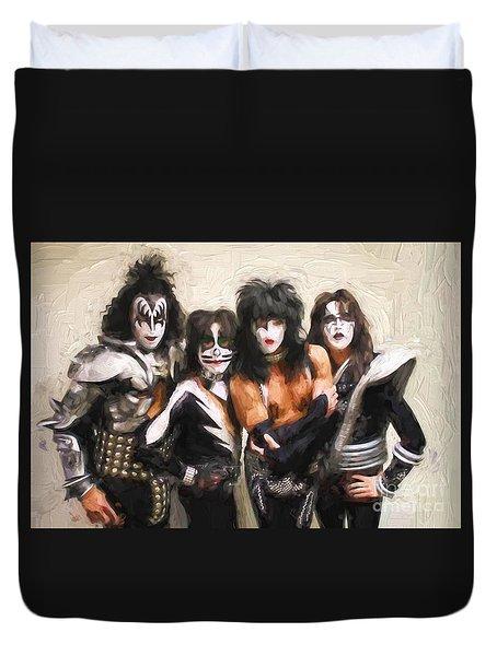 Kiss Band Duvet Cover