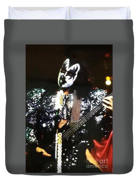 Kiss Gene Duvet Cover