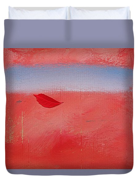 Duvet Cover featuring the painting Kiss Of The Breeze by Charles Stuart
