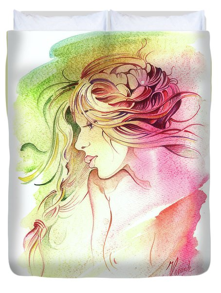 Kiss Of Wind Duvet Cover