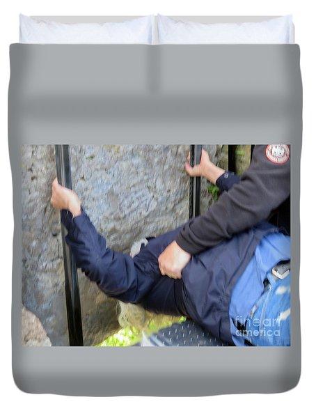 Kiss The Blarney Stone Duvet Cover