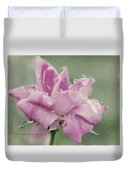Kissed By The Rain Duvet Cover