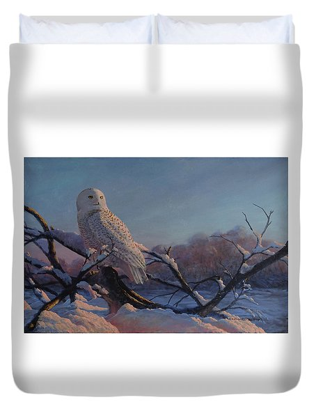 Kissed By The Sun Duvet Cover