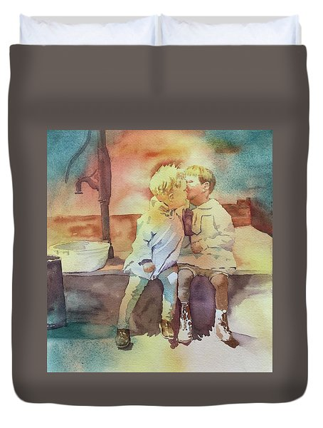 Kissing Cousins Duvet Cover