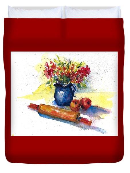 Kitchen Bouquet June 2018 Duvet Cover