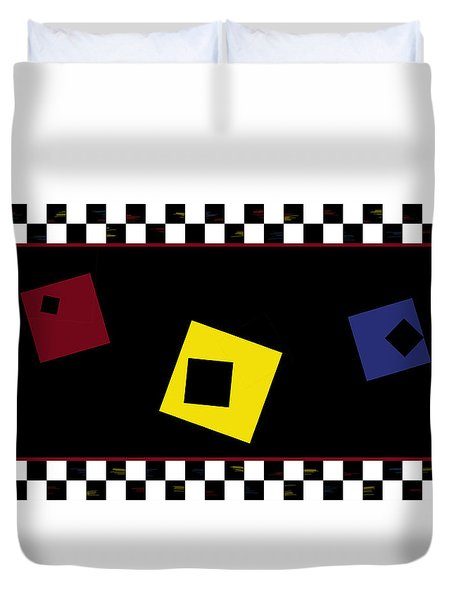 Kitchen Duvet Cover by Constance Krejci