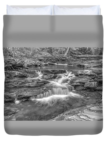 Kitchen Creek Bw - 8902-3 Duvet Cover by G L Sarti