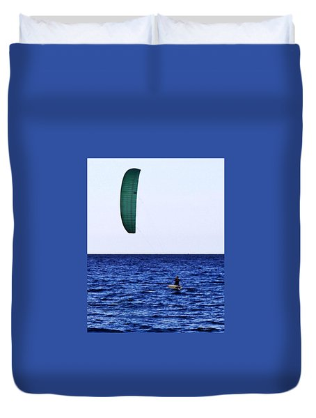 Kite Board Duvet Cover