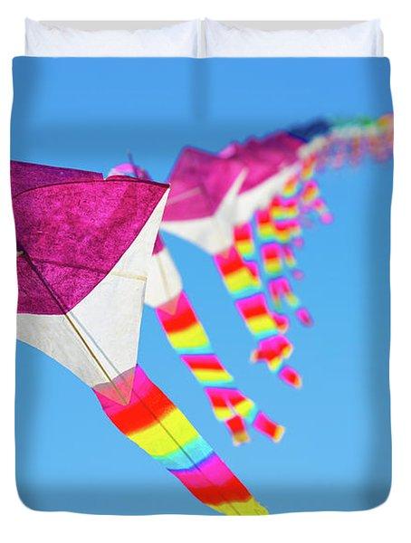 Kites Duvet Cover