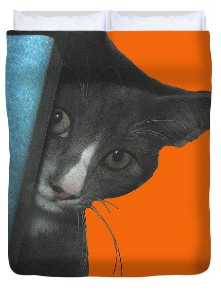 Kitster Duvet Cover