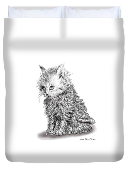 Kitten #1 Duvet Cover