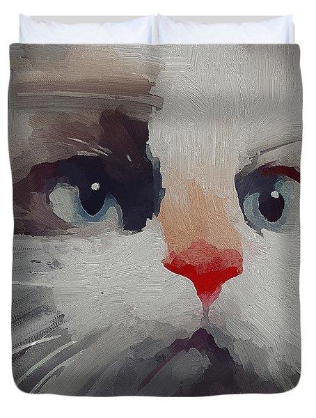 Kitty Avatar Duvet Cover