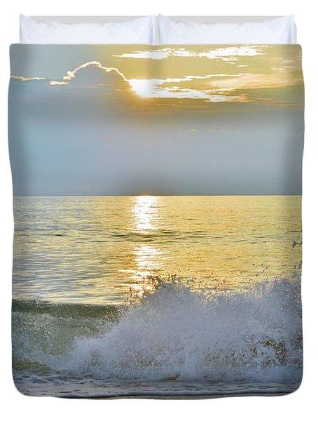 Kitty Hawk Sunrise 8/20 Duvet Cover