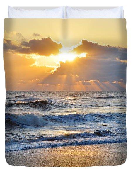 Kitty Hawk Sunrise Duvet Cover