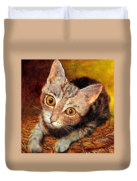 Kitty Duvet Cover