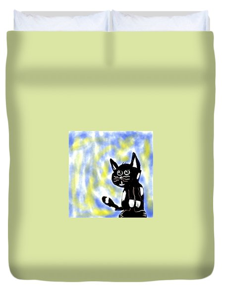 Kitty Kitty Duvet Cover