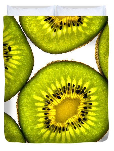 Kiwi Fruit Duvet Cover