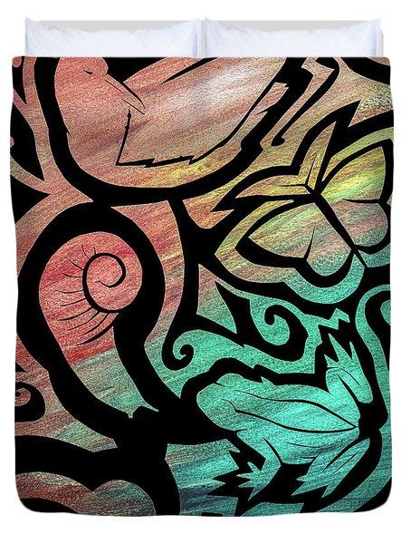 Kiwi Nature Duvet Cover