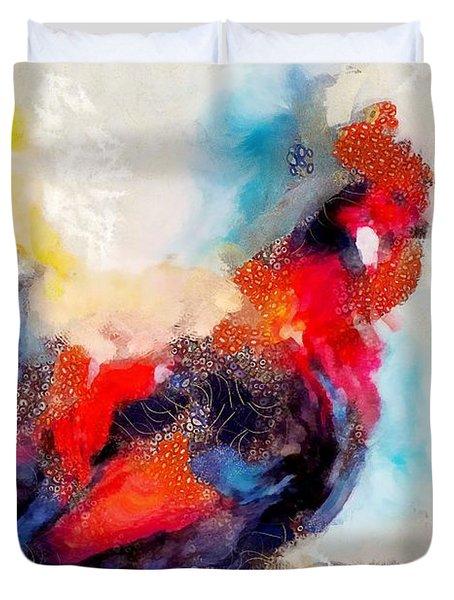 Klimt Cluck Duvet Cover