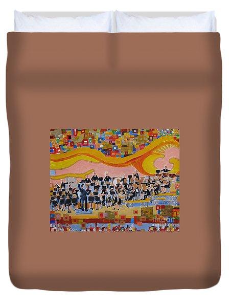 Klimt's Band Duvet Cover