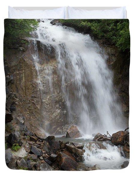 Klondike Waterfall Duvet Cover