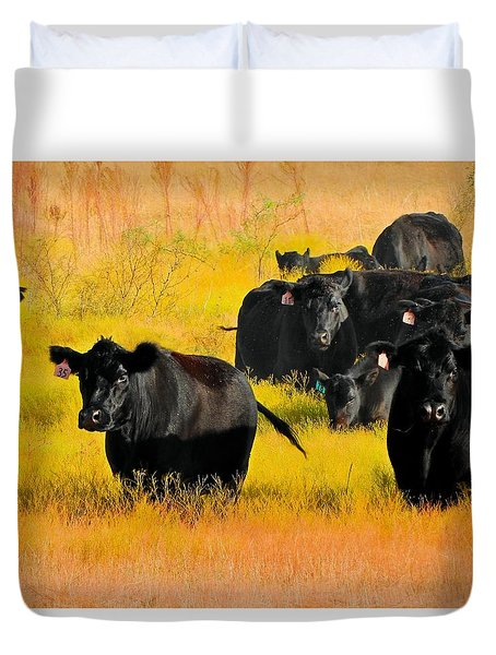 Knee High In Color Duvet Cover