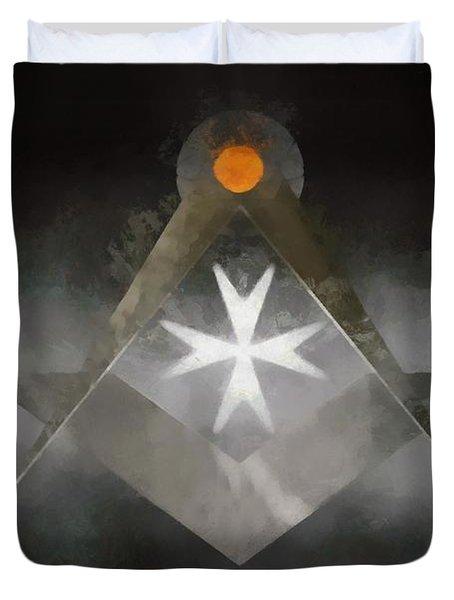 Knight Mason Duvet Cover