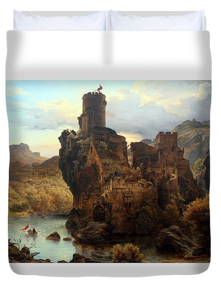 Knights Castle Duvet Cover