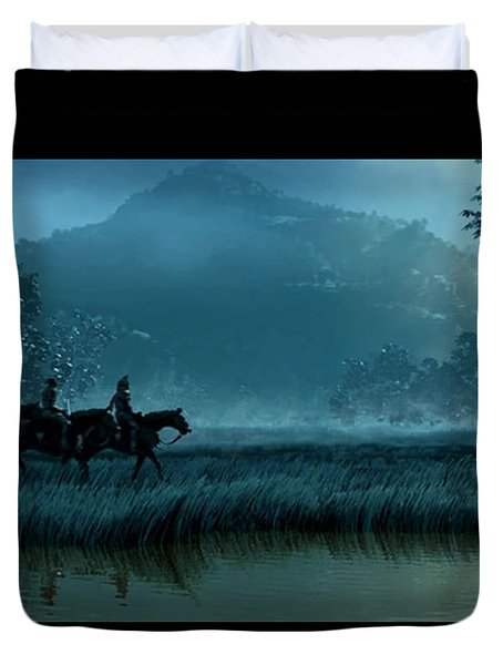 Knights Of Honor Duvet Cover