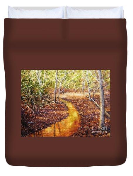 Knob Creek Duvet Cover