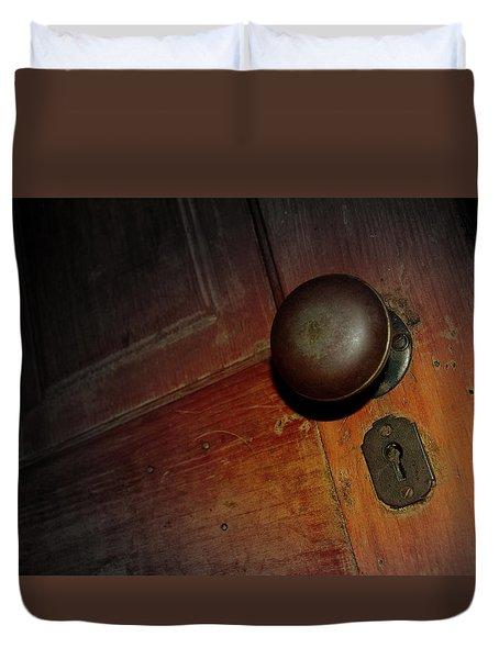 Knob Of Old Duvet Cover