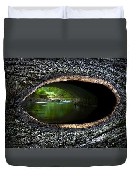 Knot Hole 2 Duvet Cover
