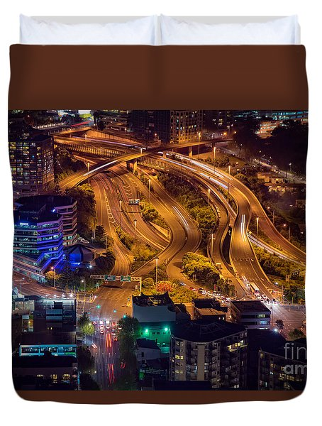 Knotted Auckland Duvet Cover