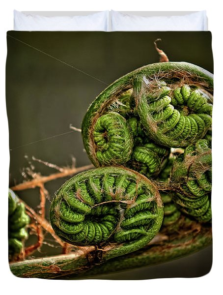 Knotted Duvet Cover by Christopher Holmes