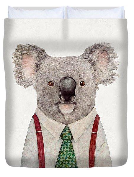 Koala Duvet Cover by Animal Crew