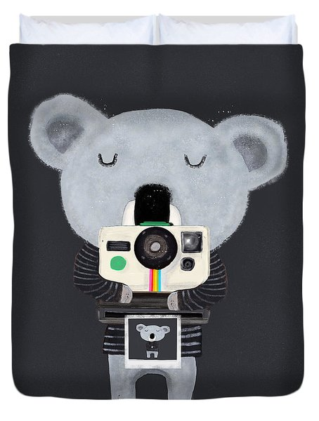 Koala Cam Duvet Cover