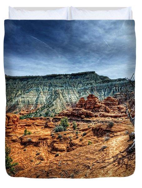 Kodachrome Basin Afternoon Duvet Cover