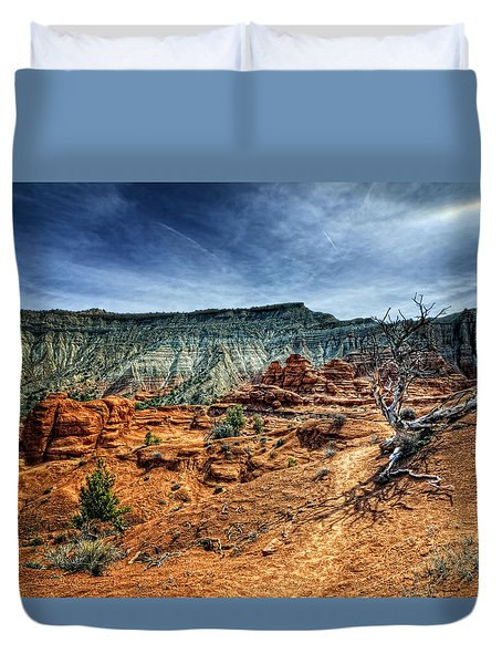 Kodachrome Basin Afternoon Duvet Cover