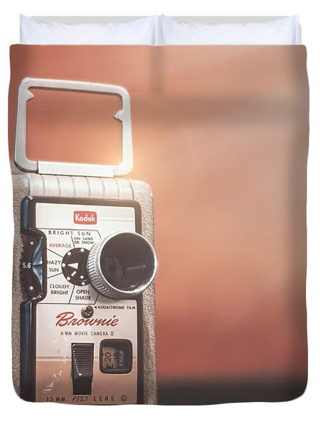 Kodak Brownie 8mm Duvet Cover