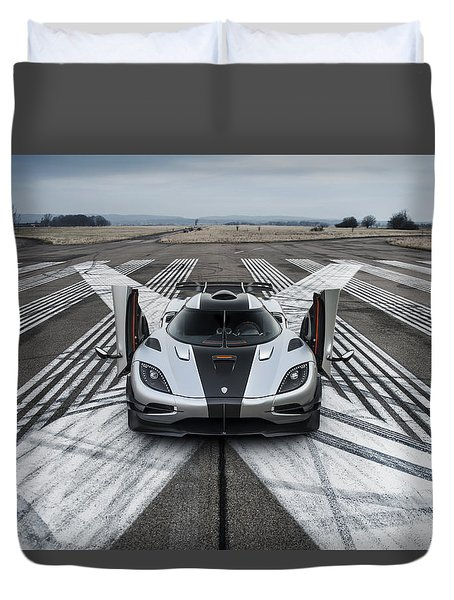 Koenigsegg One1 Duvet Cover
