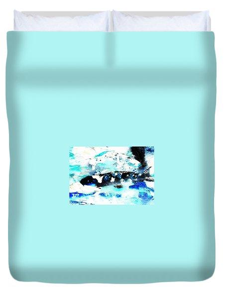 Koi Abstract 2 Duvet Cover
