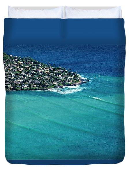 Koko Head Pastels Duvet Cover